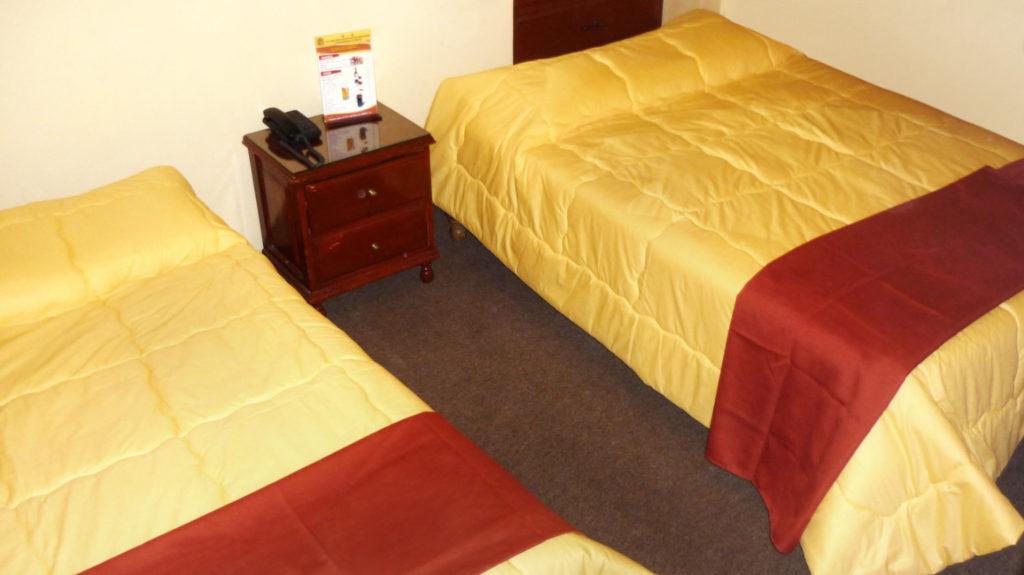 Foto de habitación doble del Hotel Sumaq Inn