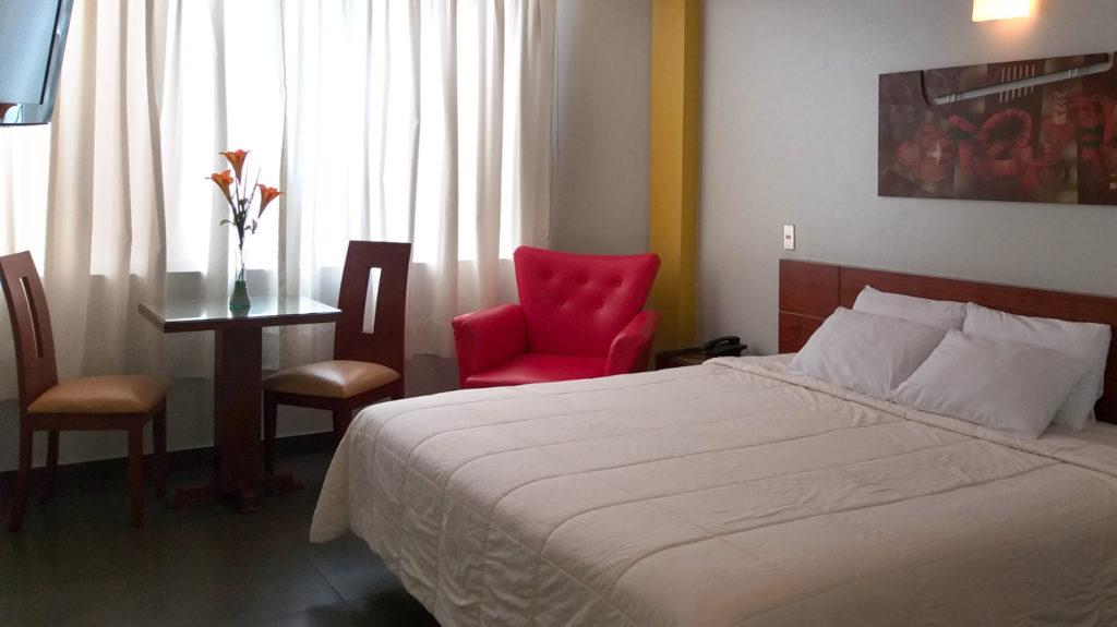 Habitación Suite con Jacuzzi del hotel Sumaq Inn