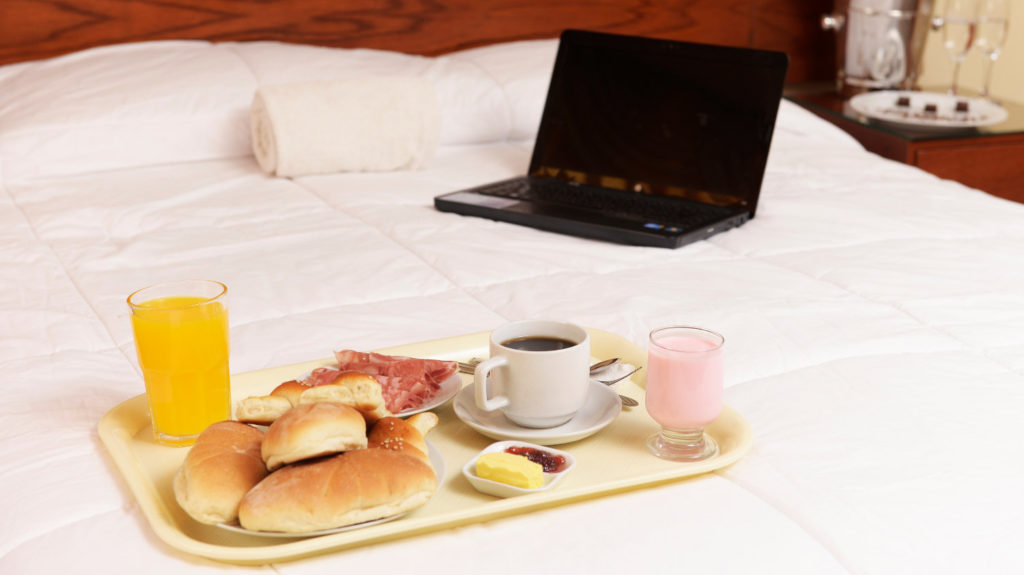 Servicio a la habitación del hotel Sumaq Inn